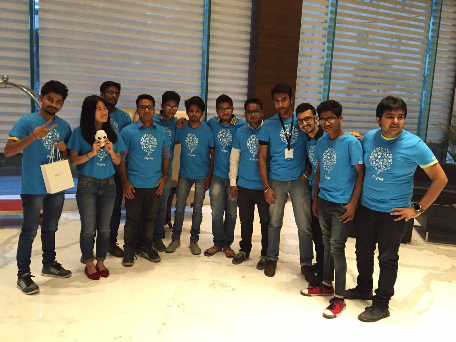 GROUP PICC OF ENTHEUSTIC MEIZU LOVERS