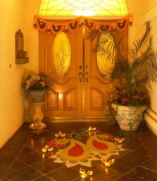 Contest winner results share your diwali decoration win for Simple diwali home decorations
