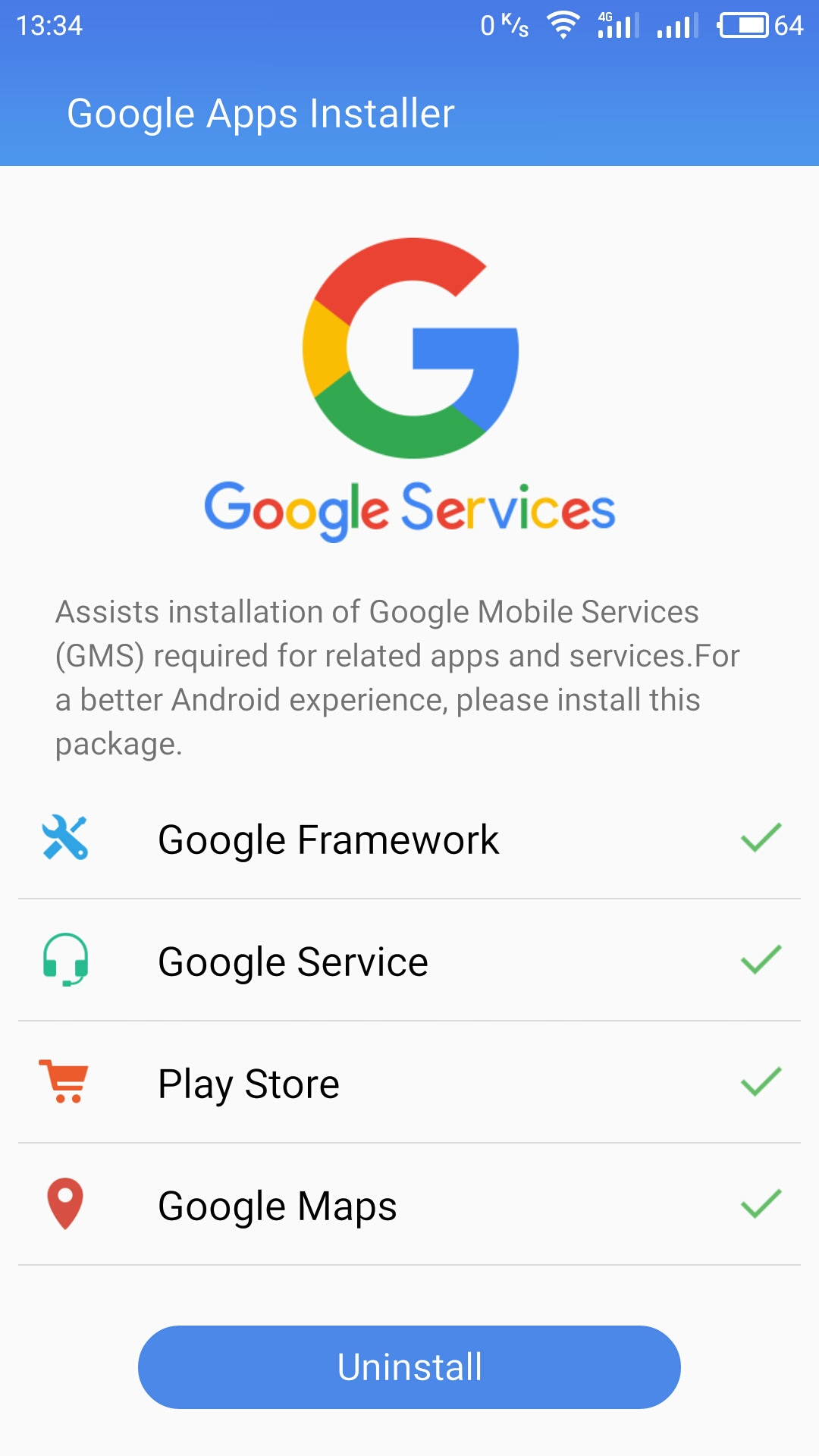 Скачать google installer - Android