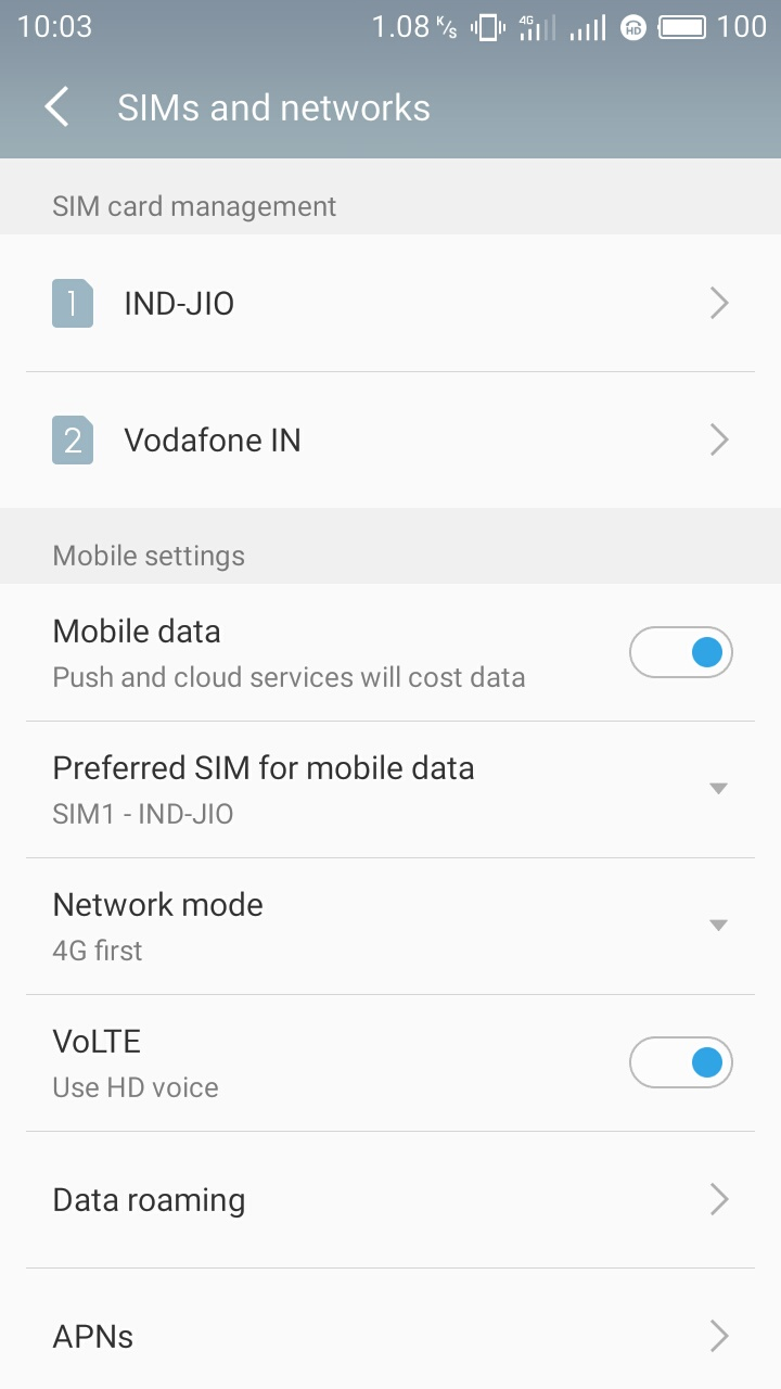 VoLTE Is Here M3s-Flyme Official Forum