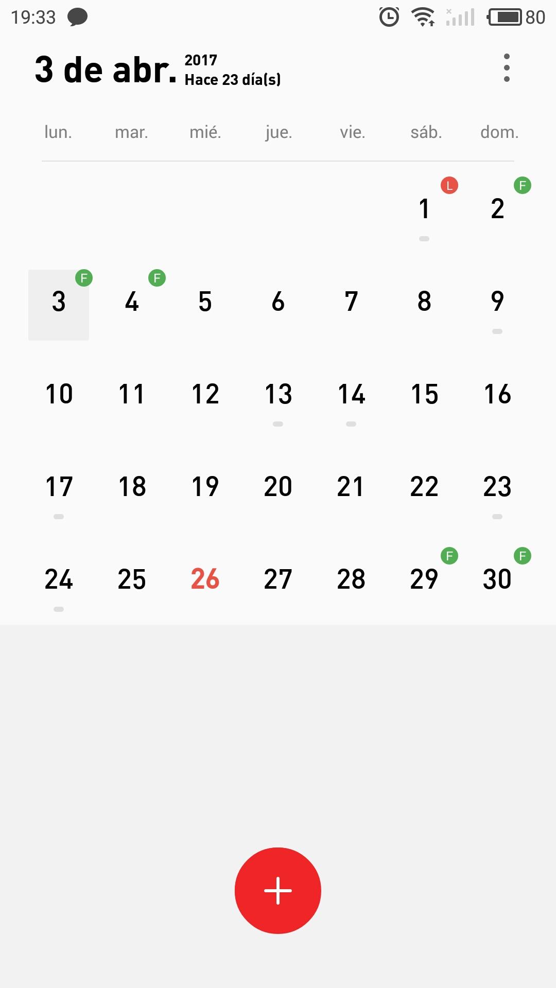 Calendario Con Note.Calendario En Meizu M3 Note Con Flyme Os 6 7 4 Flyme
