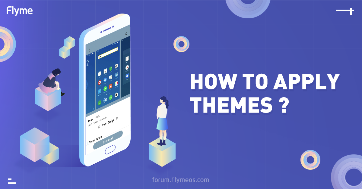 How to apply themes?