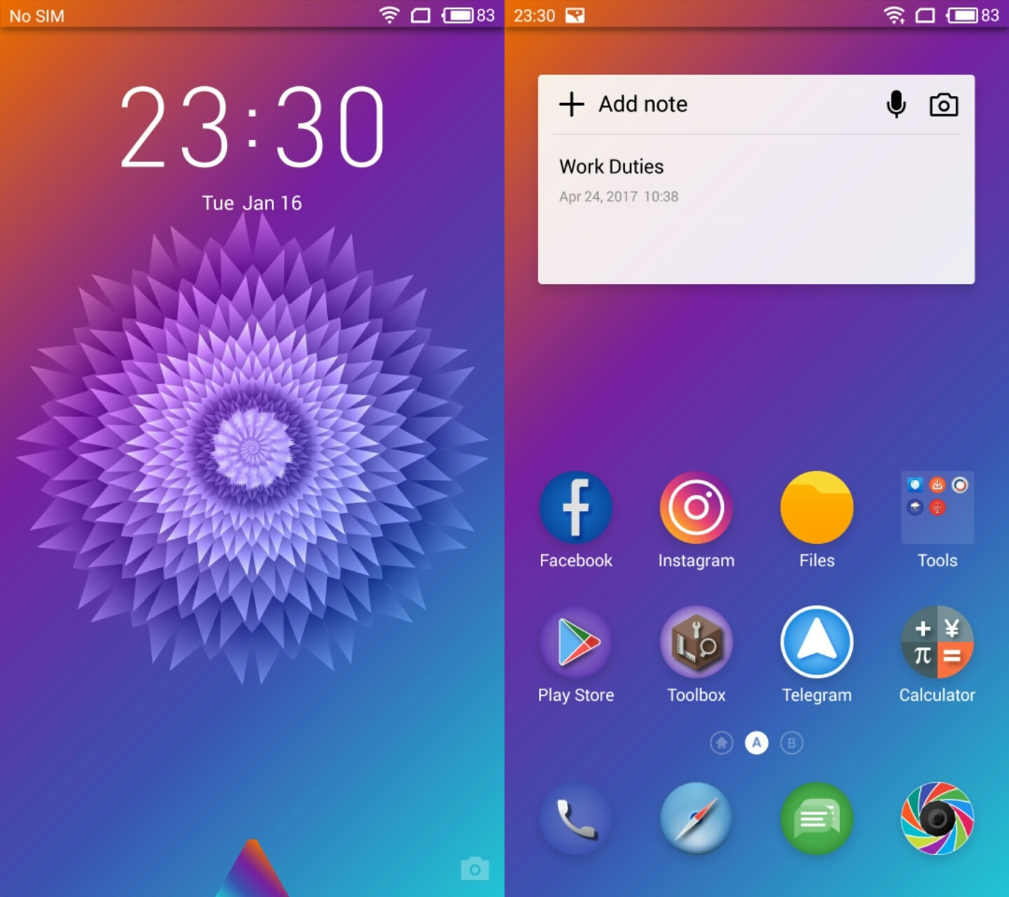 Updated-Wallpapers] Meizu Pro 7 Stock Theme for all Meizu Phones (G