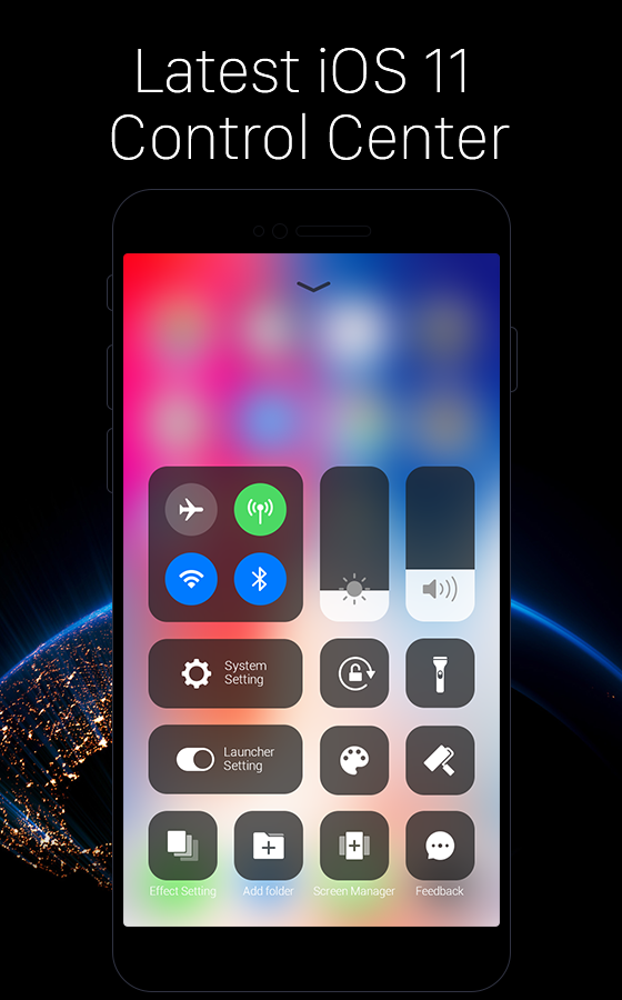 3 7k Views][Exclusive] iPhone X Launcher: Pure iOS look for