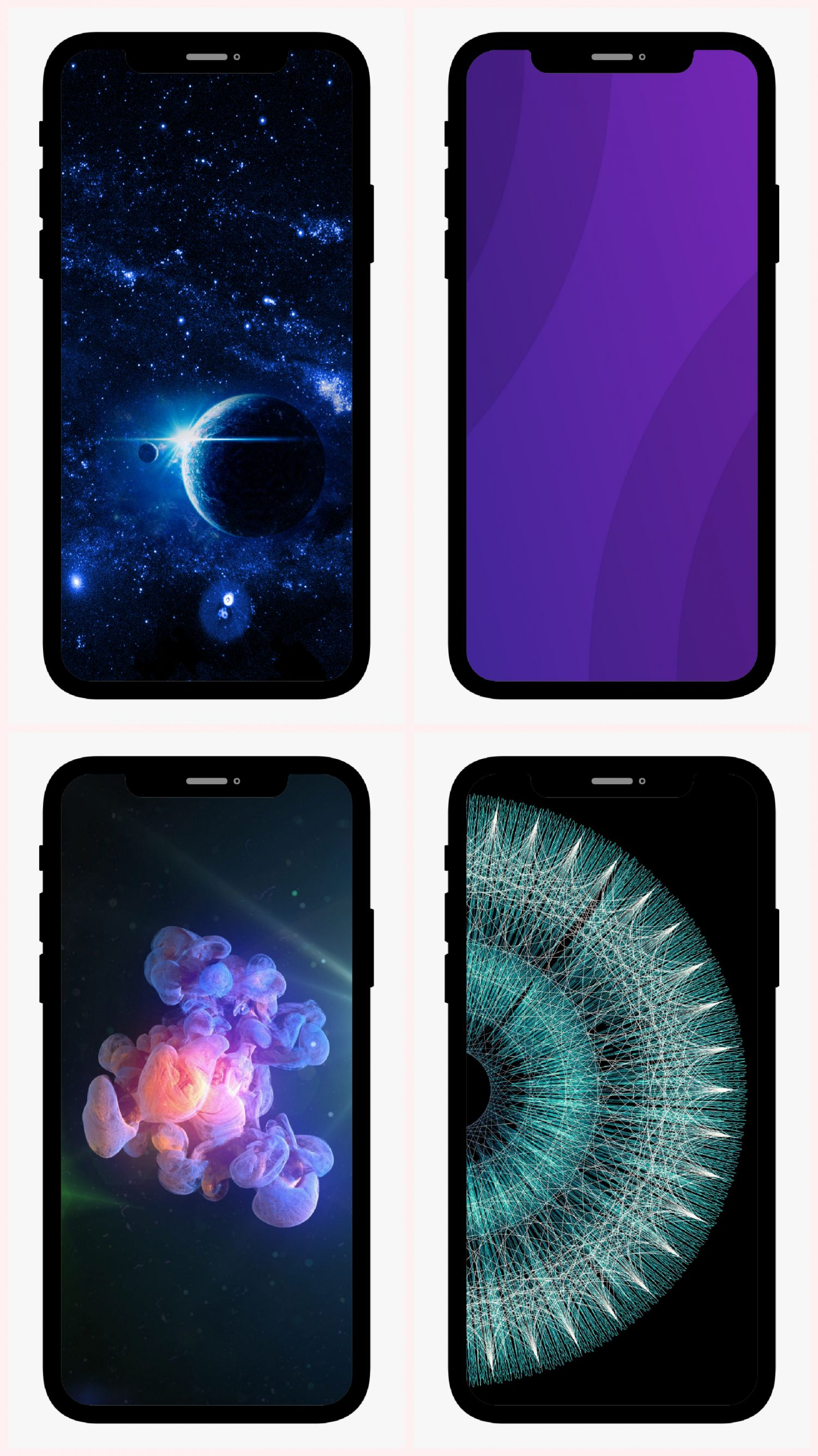 Exclusive Iphone X Original Creative Solid Color Wallpapers