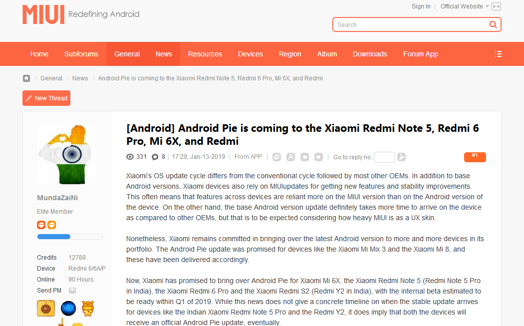 2019-01-13 Android Pie is coming to the Xiaomi Redmi Note 5, Redmi 6 Pro, Mi 6X,.png