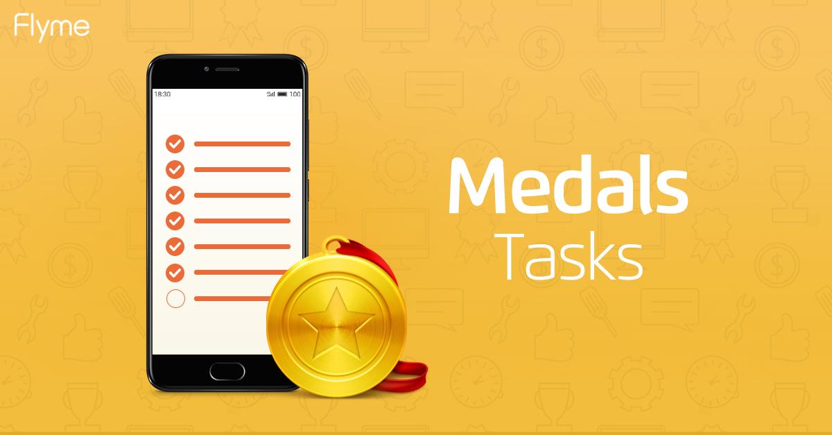 Medal tasks